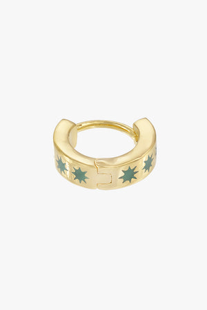 Ice star huggie gold