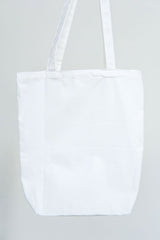 Canvas bag white