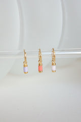 Cloud nine earring gold