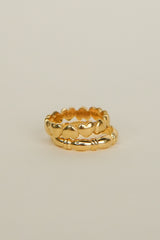 True treasure pinky ring gold plated