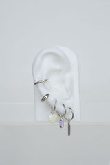 Lilac dream earring silver