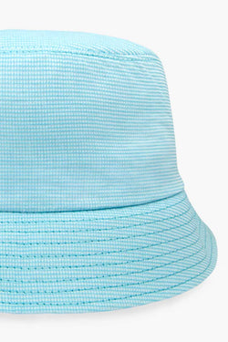 Blue baby bucket hat