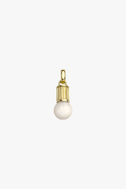 Illuminating pendant gold