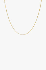 Box choker gold plated (36cm)