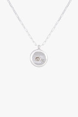 Kissed by the sun necklace pendant silver