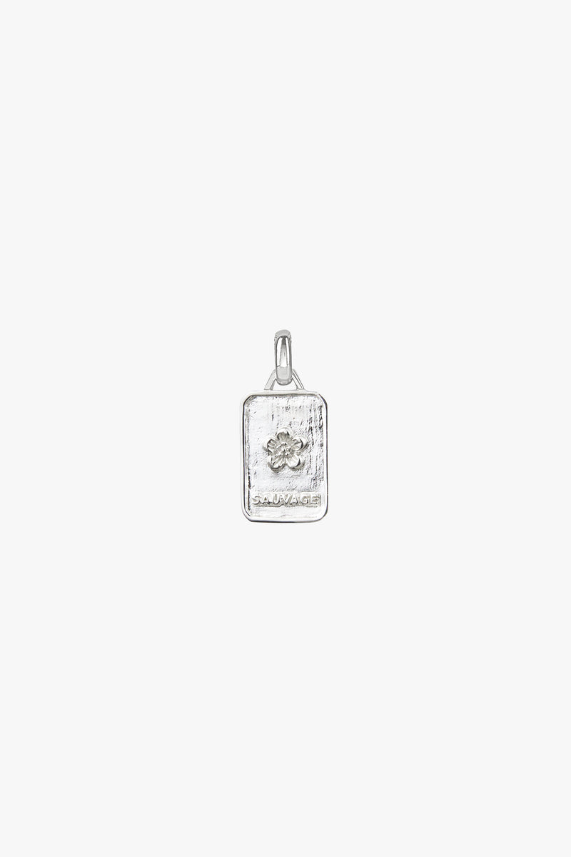 Sauvage necklace pendant silver