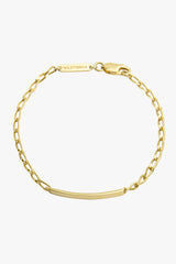 Personalized bar bracelet gold (pre-order)