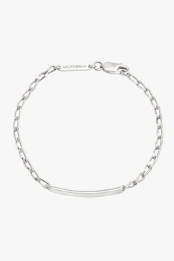 Personalized bar bracelet silver (pre-order)