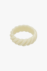 Mix it up ring ivory color