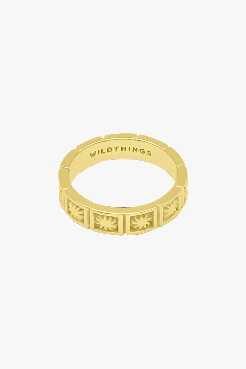 Kissed by the sun ring gold – Wildthings_collectables