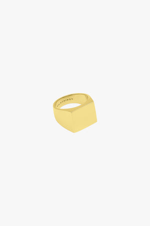 Sauvage ring gold plated