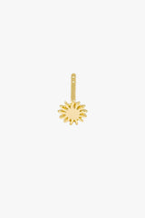 Kissed by the sun stud 14k solid gold