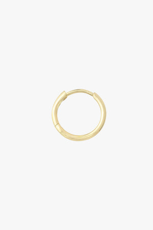 Basic wild hoop gold plated (13mm)