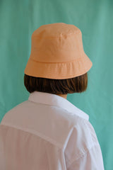 Orange lover bucket hat
