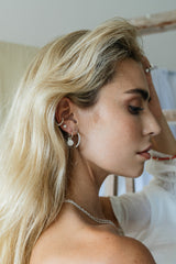 Wild classic earring silver small