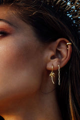 Chain Earring Gold