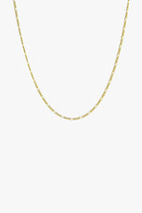 Long figaro chain gold