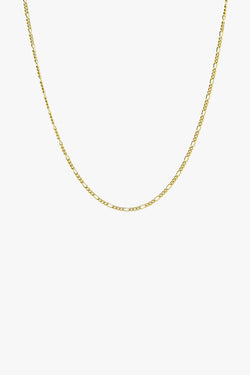 Long figaro chain gold (50cm)
