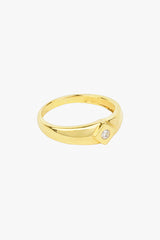 Little Bali ring 14k solid gold