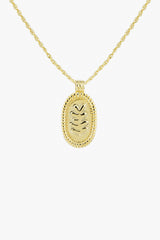 Matisse necklace gold plated