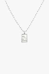 Matisse woman pendant silver