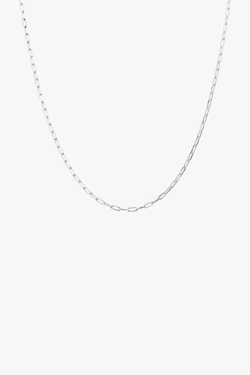 Round silver Necklace (40cm & 50cm)