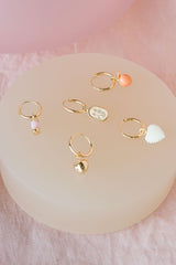 Feeling peachy earring gold (PRE-ORDER)