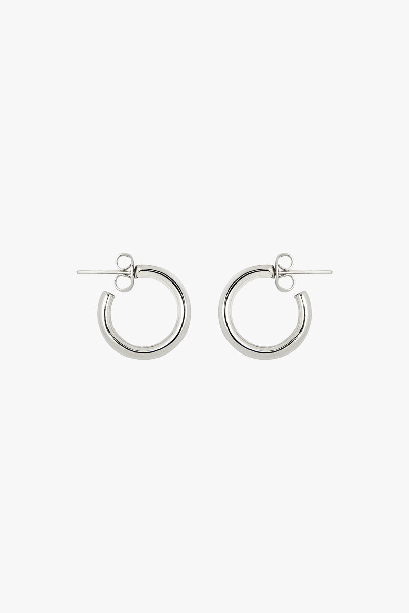 Small hoop earring silver