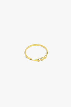 3 is a charm ring gold