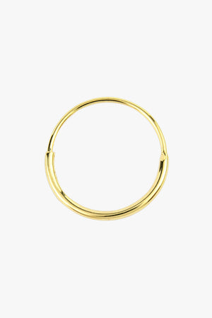 Hoop with detail gold (15mm)