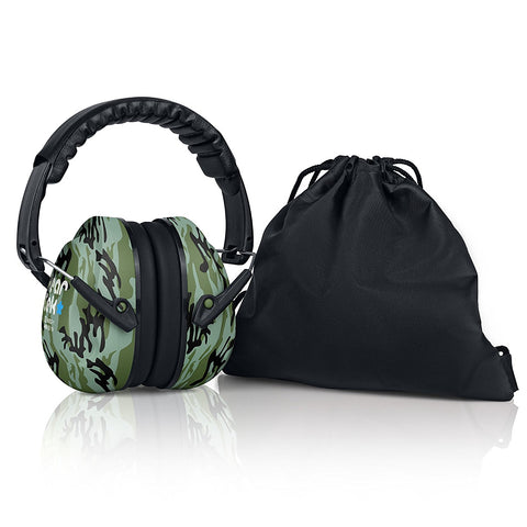Camo HearTek Sammie Earmuffs Junior
