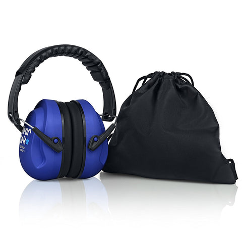 Dark Blue HearTek Earmuffs Junior