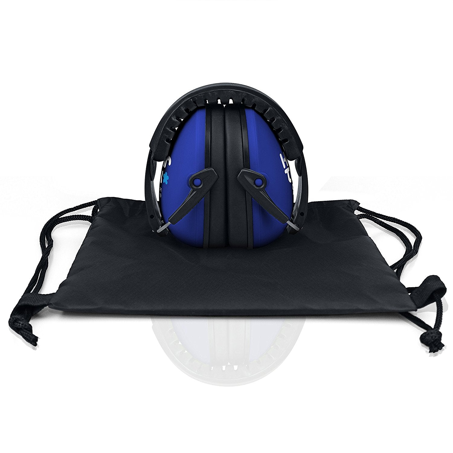 Dark Blue Senna HearTek Earmuffs Junior