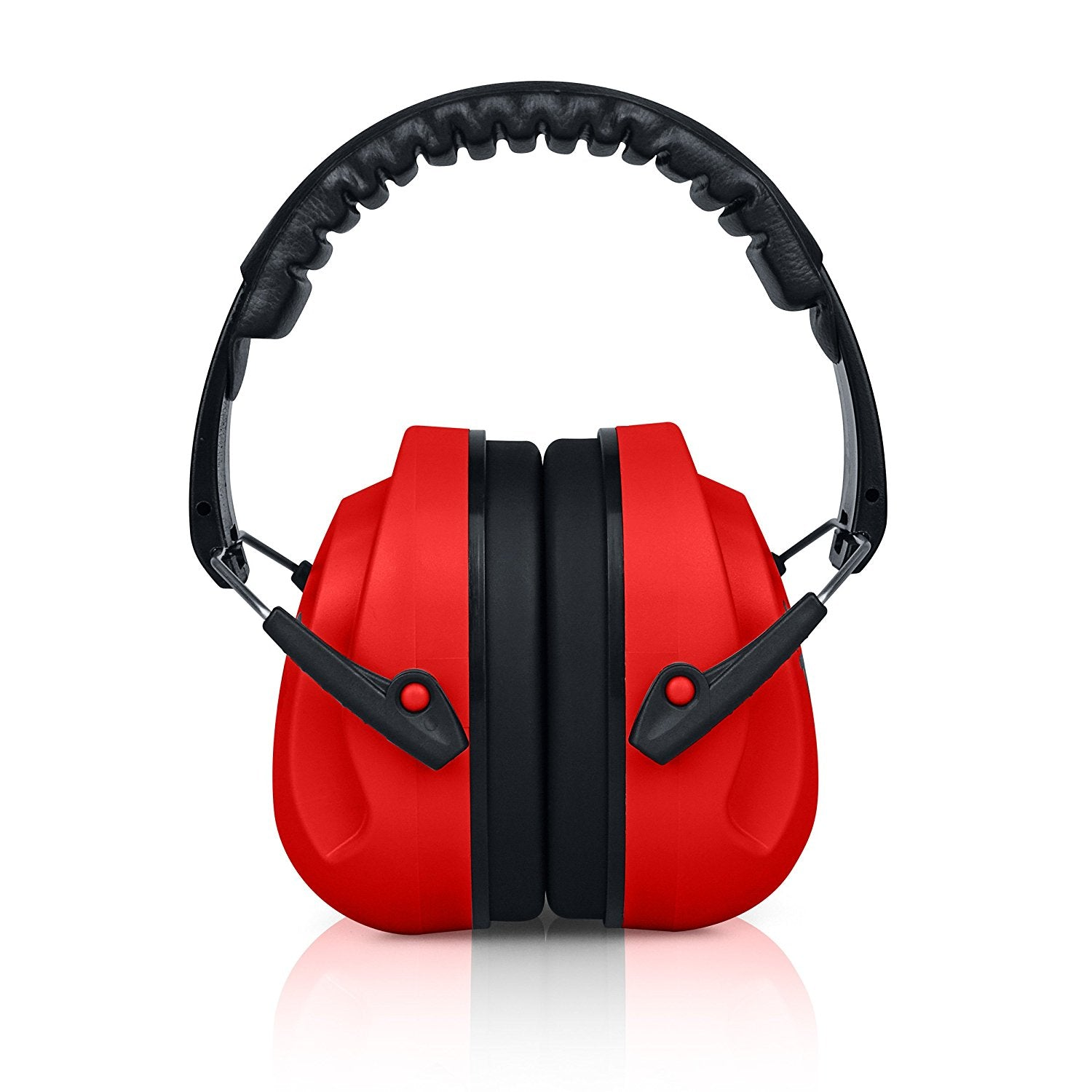 Red HearTek Sammie Earmuffs Junior