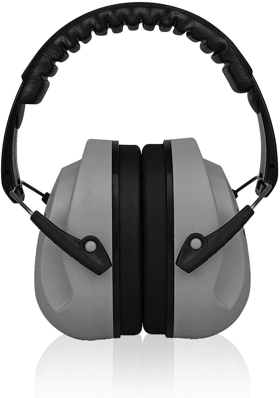 Grey Sammie Earmuffs Hearing Protection with Travel Bag