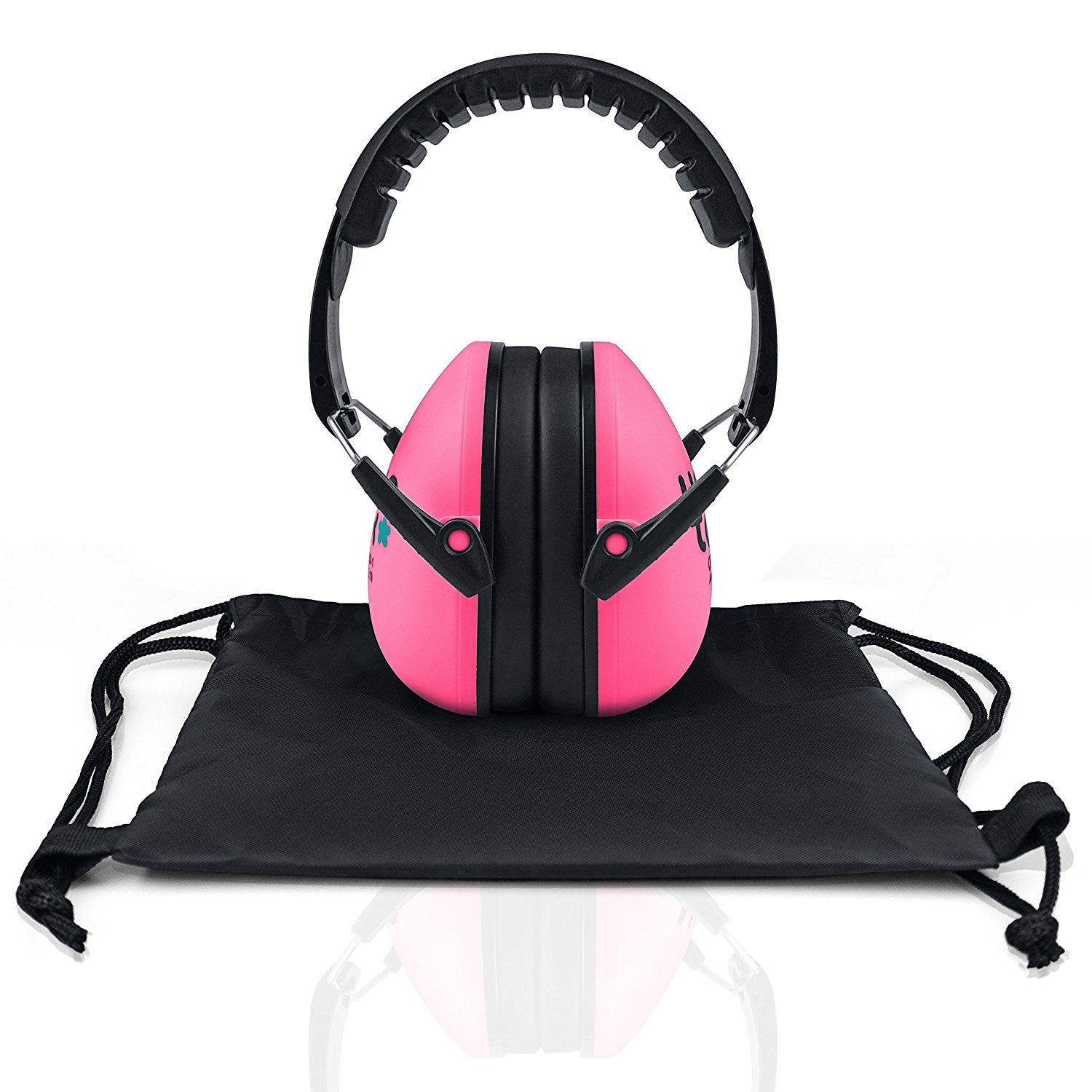 Bubble Pink Senna Earmuffs Hearing Protection with Travel Bag