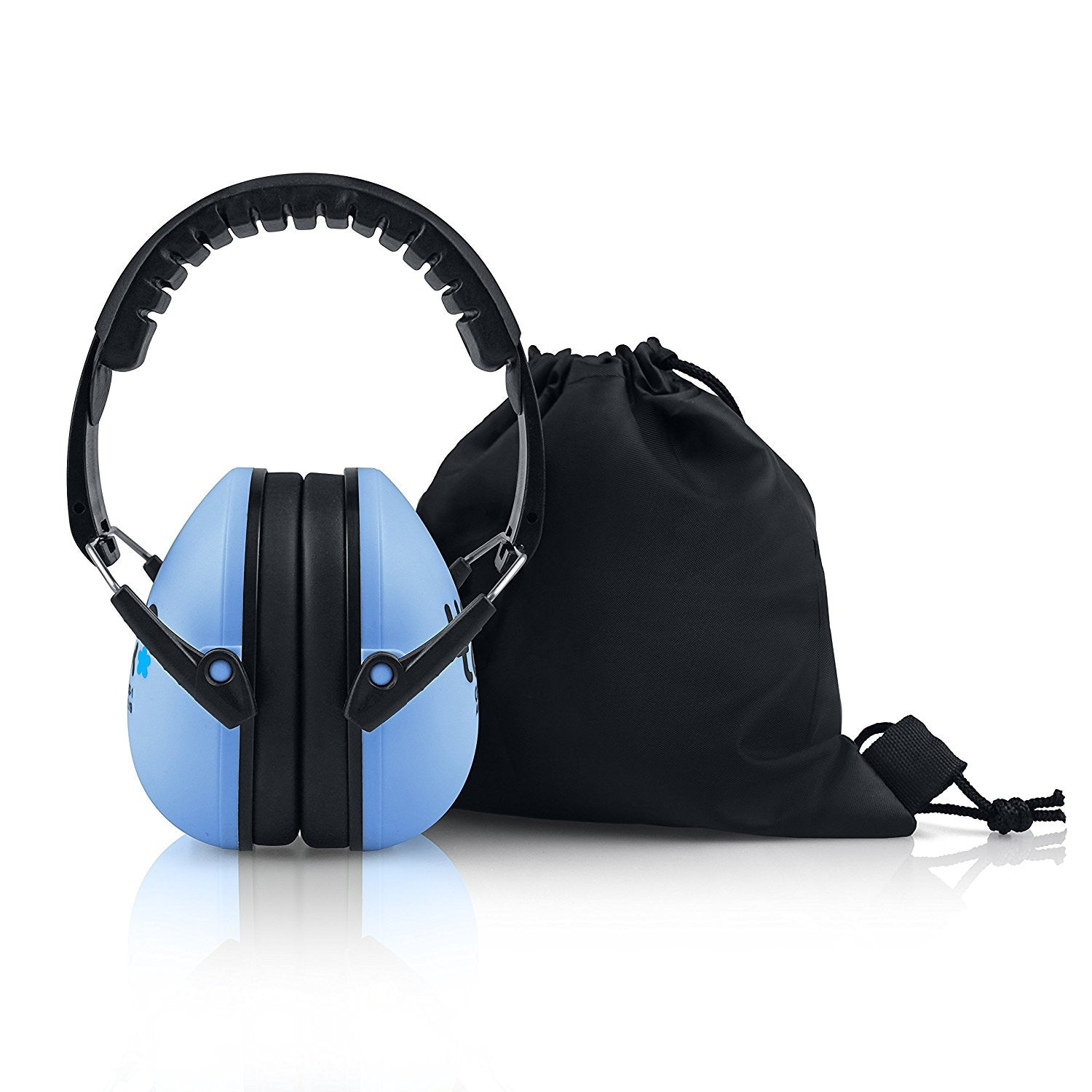 Ocean Blue Senna Earmuffs Hearing Protection with Travel Bag