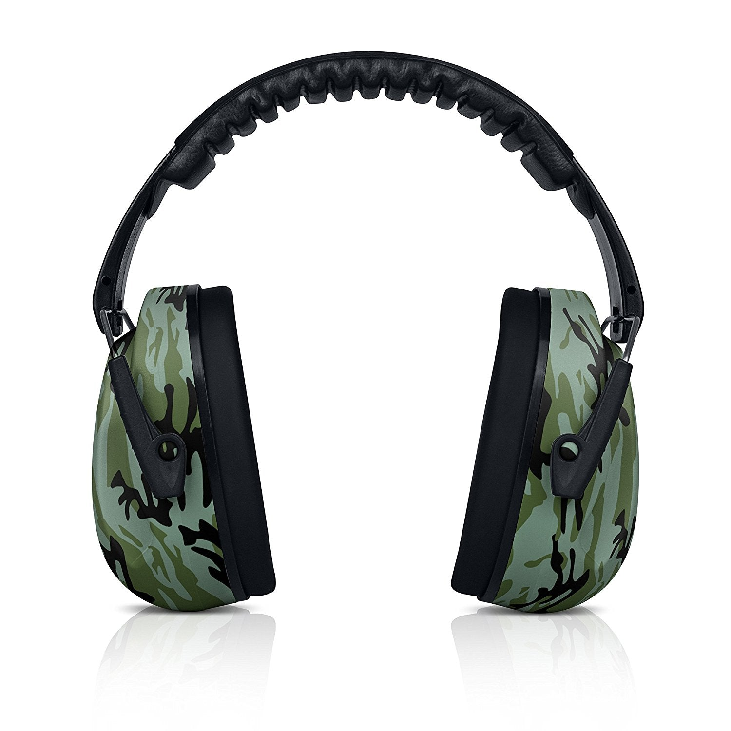 Camo HearTek Earmuffs Junior