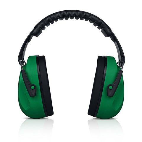 Dark Green HearTek Earmuffs Junior