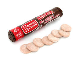 Necco Wafers - Chocolate
