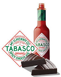 Tabasco - Spicy Chocolate Wedge