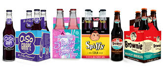 4 - Pack Glass Bottle Soda Mix&Match