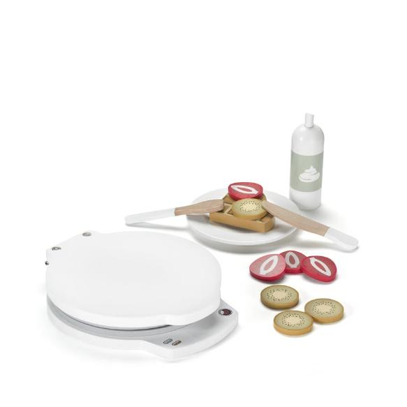 Kids Concept Wooden Waffle Iron Set
