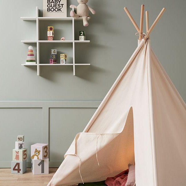 Kids Concept Tipi Tent, Off White