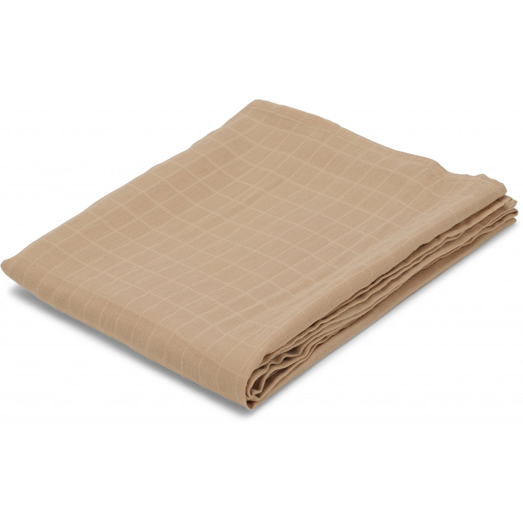 Konges Sløjd 1 Pack Muslin Cloth, Sand