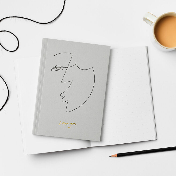Kinshipped 'Hello You' Notebook