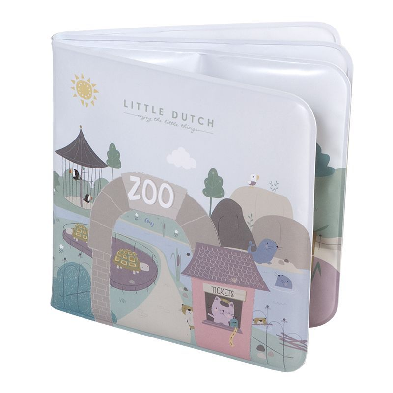 Little Dutch Bath Book - Zoo