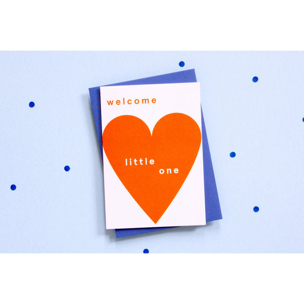 Ola Jr Welcome Little One Card