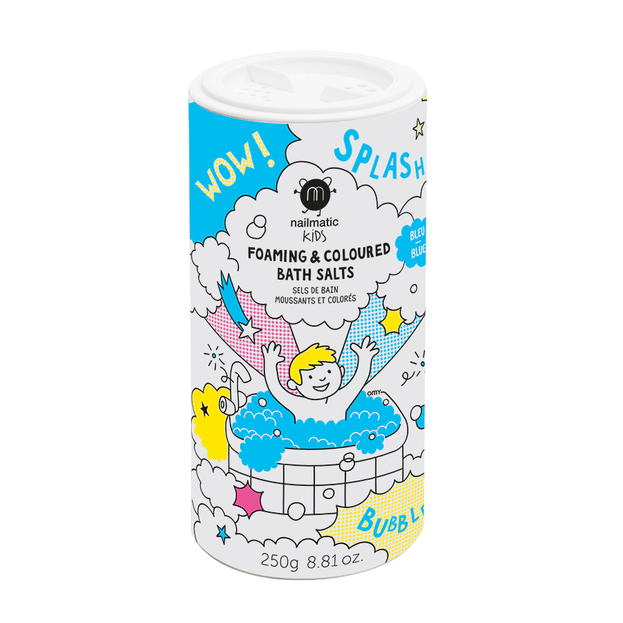 Nailmatic Blue foaming bath salts