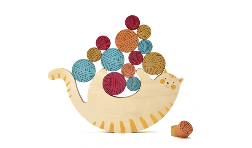 Londji Meow Wooden Game